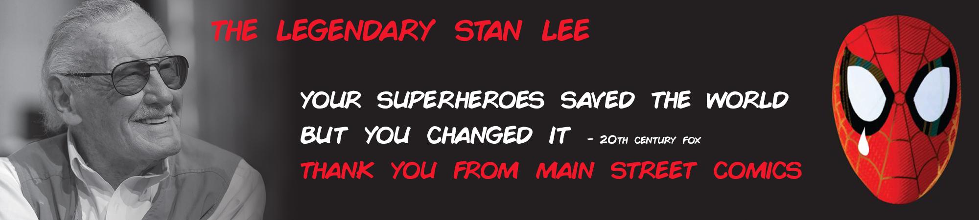 Website slider Stan Lee